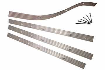 24 Ft. Residential Aluminum Garden Edging Kit