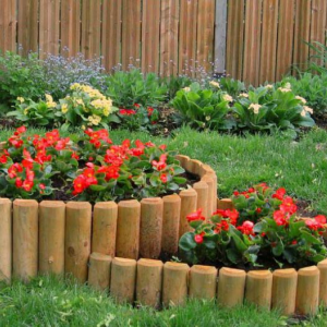 Looking For A Wooden Garden Edging Ideas? Then You Should Try This One!