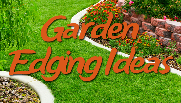 66 creative garden edging ideas the landscape market for Cheap diy garden edging